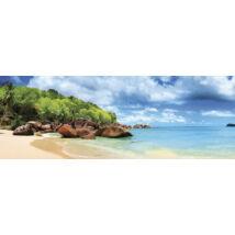 Puzzle Seychelle - szigetek - 1000 darabos panoráma