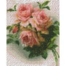 Pixel készlet (4 alaplapos) - Rózsák
