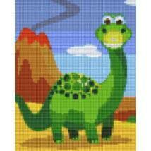 Pixel készlet (4 alaplapos) - Dínó