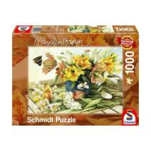 1000 darabos puzzle - Spring blossoms