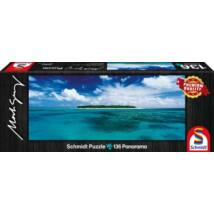 136 darabos puzzle - Canning river Lady Musgrave Island