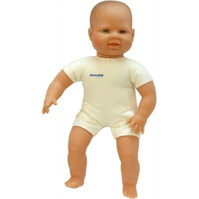 Európai baba 40 cm, textil testtel