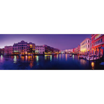 1000 db-os puzzle - Panoráma: Canal Grande, Velence