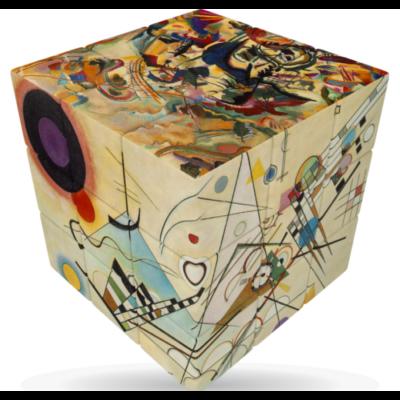 V-Cube versenykocka 3x3, Kandinsky