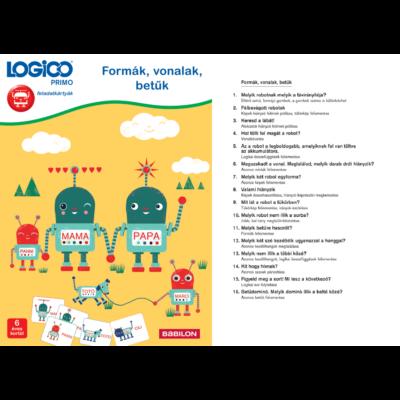 LOGICO Primo - Formák, vonalak, betűk