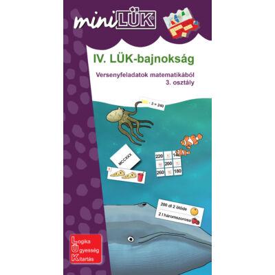 IV. LÜK-bajnokság - versenyfeladatok matematikából 3. osztály