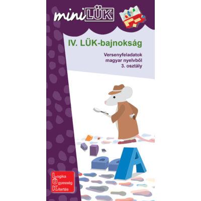 IV. LÜK-bajnokság - versenyfeladatok magyar nyelvből 3. osztály