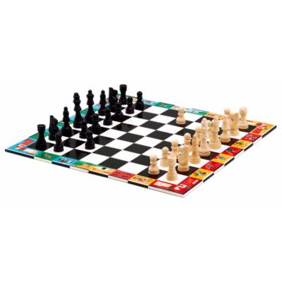 SAKK, KÍNAI SAKK ÉS DÁMA - Nomad Chess and checkers