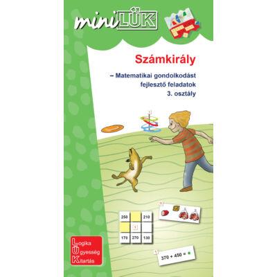 Mini LÜK - Számkirály, matematika feladatok 3. osztály