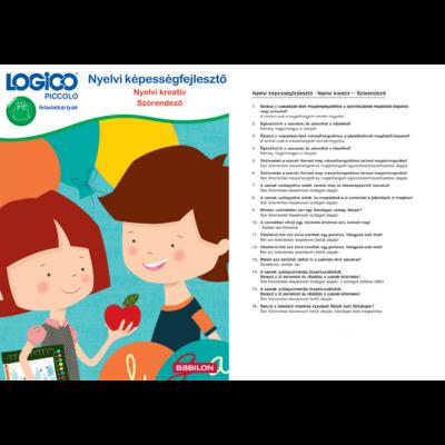 LOGICO Piccolo - Nyelvi képességfejlesztő: Nyelvi kreatív - Szórendező