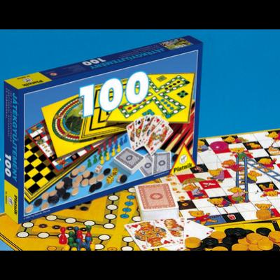 Játékgyüjtemény 100-as Kék