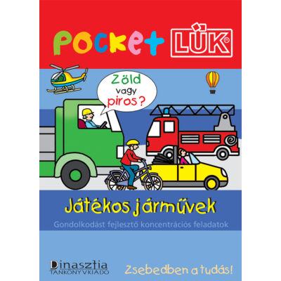 Pocket LÜK - Játékos járművek