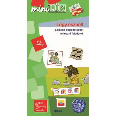 Mini LÜK - Légy észnél! 3-4. osztály