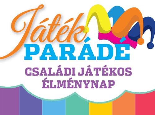 Játékparádé Veresegyház, Fő tér, 2018. június 3. (vasárnap) 10-17 óra között.